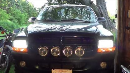How To Install Boslla 9007 Led Headlight Bulb On Dodge