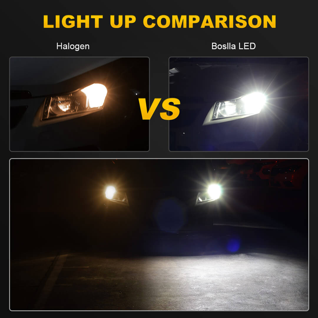 LED Light 30W 7443 Red Two Bulbs Front Turn Signal Replacement Upgrade Show Use