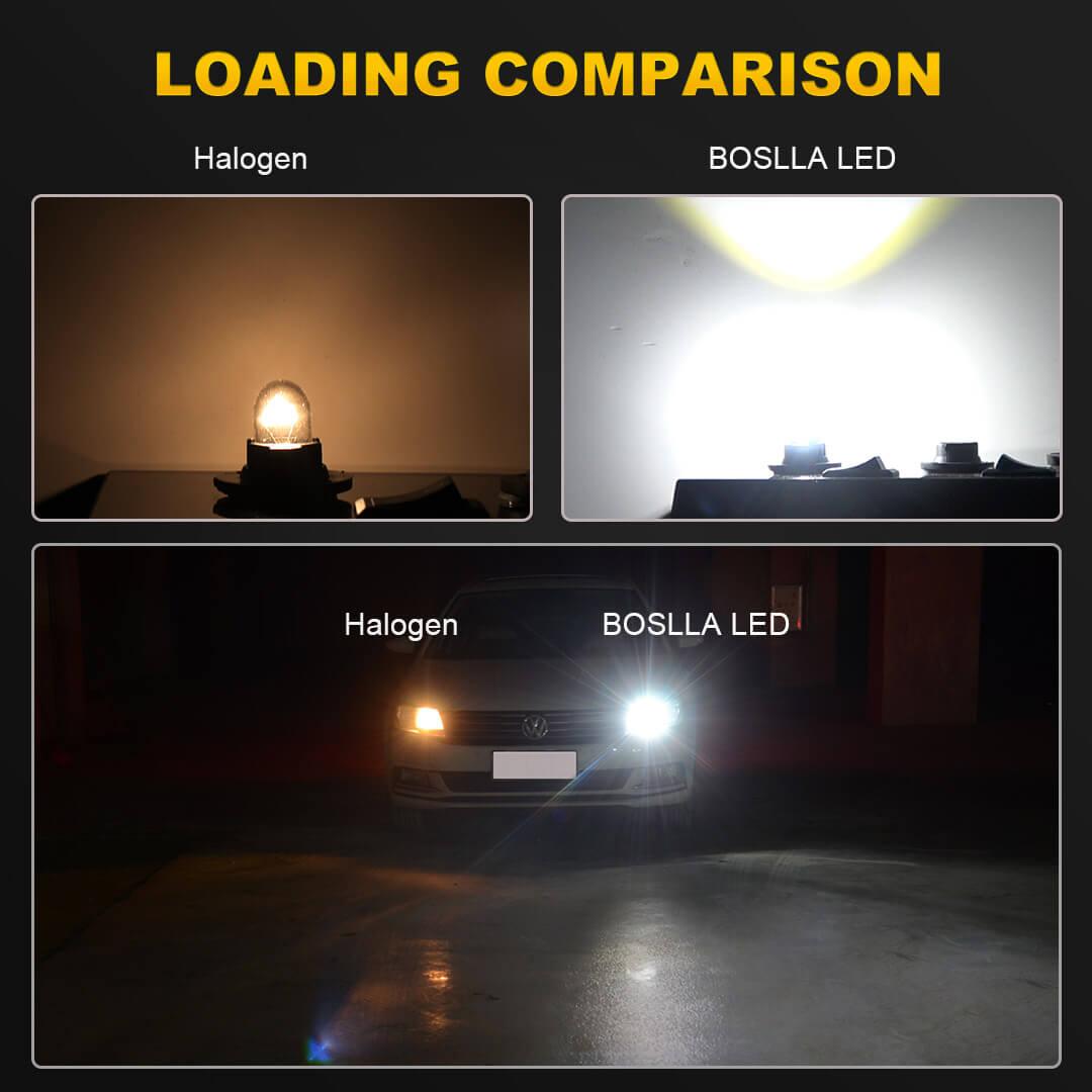 License Plate Light T10 8 LED Wedge 194 2825 168 12961 Purple W1 For Subaru J